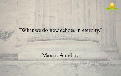 4. Marcus Aurelius – Vad vi gör