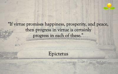 9. Epictetus – Utveckling inom dygd