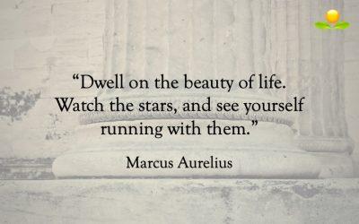 14. Marcus Aurelius – Tänk på livets skönhet