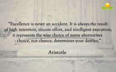 16. Aristoteles – Excellens är ingen slump