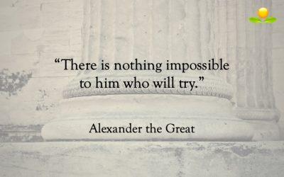 18. Alexander den store – Inget är omöjligt
